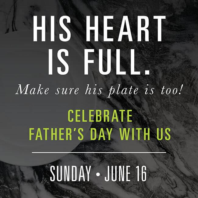 Charbonos Reservations for Fathers Day