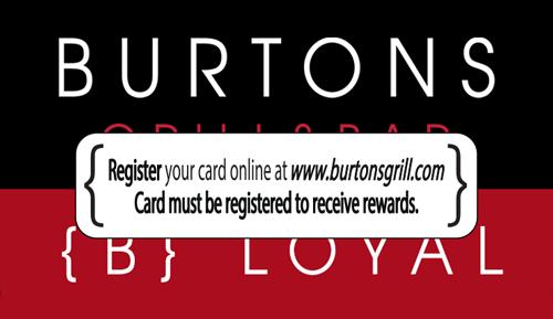 Register Your B Loyal Card