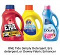Save $0.50 on ONE Tide Simply Detergent, Era Detergent or Downy...