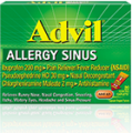 Save $1.00 on any Advil® Allergy Sinus