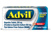 Save $1.00 off ONE Advil® product, except for trial sizes