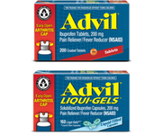 $1 off any one Advil® Liqui-Gels® product, except for trial sizes