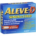 Save $1.00 ON ANY ALEVE-D® PRODUCT (excluding Aleve® products)