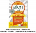 Save $5.00 on ONE Align® Adult Chewables Probiotic Product