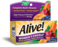 Save $1.00 on any one (1) alive! multivitamin product