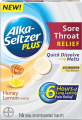 Save $1.00 off any Alka-Seltzer Plus® Sore Throat Relief product