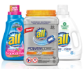 Save 50¢ on any ONE (1) all® product. (Excludes trial size)