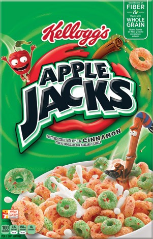 SAVE $1.00 on TWO Kellogg's® Apple Jacks® Cereals
