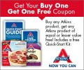 Save $1.00 off any Atkins product plus free quick-start kit