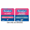 Save $1.00 on any Adult Benadryl® product (excludes trial size)