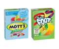 Save 50¢ off TWO (2) BOXES any flavor/variety Betty Crocker™ Fruit Shapes, Fruit by the Foot™, Fruit Gushers™ or Fruit Roll-Ups™ Fruit Flavored Snacks, Mott's® Fruit Flavored Snacks, Sunkist® Fruit Flavored Snacks OR Fiber One™ Fruit Flavored Snacks