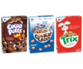 Save $0.75 on any ONE BOX Cocoa Puffs™, Cookie Crisp™, or Trix™ Cereal - Weekly Offer
