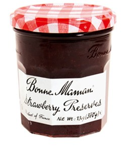 Save $0.40 off one 13oz jars of Bonne Maman Preserves and Jellies