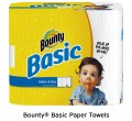 Save $1.00 on Bounty Basic Paper Towels