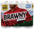 Save $0.55 off any one Brawny Paper Towel, 2,3, or 6 Roll