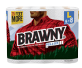 Save $1.00 on any ONE (1) Brawny® Paper Towel, 3, 6, or 8 Roll