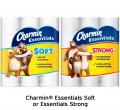 Save $1.00 on Charmin Essentials Soft or Essentials Strong bath tissue