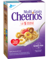 Save $0.50 on ONE BOX Multi Grain Cheerios® cereal