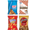 Save 50¢ on TWO (2) BAGS any 3.7 OZ. OR LARGER Chex Mix™, Chex Mix™ Muddy Buddies™, Chex Mix™ Popped™, Chex Mix™ Xtreme, Bugles™ Corn Snacks, OR Gardetto's™ Snack Mix