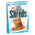 Save 50¢ off ONE BOX Cinnamon Toast Crunch™ Blasted Shreds™ OR Peanut Butter Chocolate Blasted Shreds™ cereal
