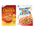 Save $1.00 off TWO (2) any flavor General Mills cereal listed: Cheerios™, Cinnamon Toast Crunch™, Lucky Charms™,  Reese's Puffs, Chex™, Cocoa Puffs™, Trix™, Fiber One™, Cookie Crisp™, Golden Grahams™, Kix™, Total™, Wheaties™, Dora the Explorer™, Oatmeal Crisp™, Raisin Nut Bran, Basic 4™, Girl Scouts® , Tiny Toast™ , Nature Valley™ boxed cereal, Nature Valley™ Granola