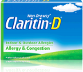 Save $2.00 on any Non-Drowsy Claritin-D® Allergy Product (10 count or larger)