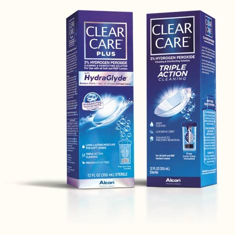 Get $2 off when you buy any one (1) CLEAR CARE® solution 10 oz. or larger