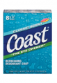 $0.75 off any one Coast® Bar Soap (8-bars or larger)