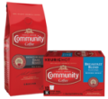 Save $3.00 on any TWO (2) BAGS or K-CUP® BOXES of Community® Coffee
