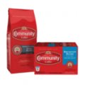 Save $3.50 off TWO (2) Bags or Single-Serve Boxes of Community®...