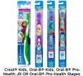 Save $1.00 off ONE Crest® Kids, Oral-B® Kids, Oral-B® Pro-Health JR™ OR Oral-B® Pro-Health™ Stages™ Toothbrush (excludes trial/travel size)