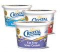 Save $0.30 off Crystal Creamery Sour Cream