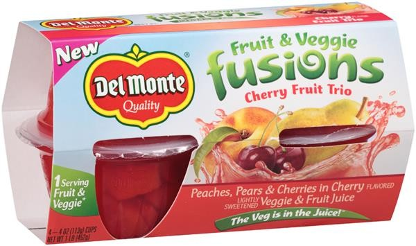 Save $1.50 off TWO (2) 4-pack Del Monte® Fruit Cup® Snacks