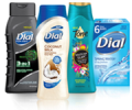 Save $1.50 on ONE (1) Dial® or Tone® Body Wash (12oz. or larger), 6-bar