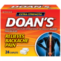 Save $1.00 on Doan's Backache Pain Relief