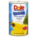Save $0.35 on Dole® 6-Pack 6 oz. or 46 oz. Canned Juice