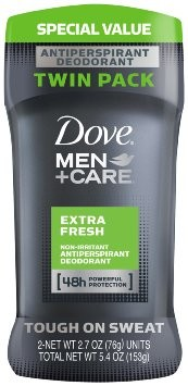 SAVE $0.50 on any ONE (1) Dove Men+Care Antiperspirant (2.7 oz.), Deodorant (3 oz.) or Clinical Protection Antiperspirant (1.7 oz.) (excludes trial and travel sizes).