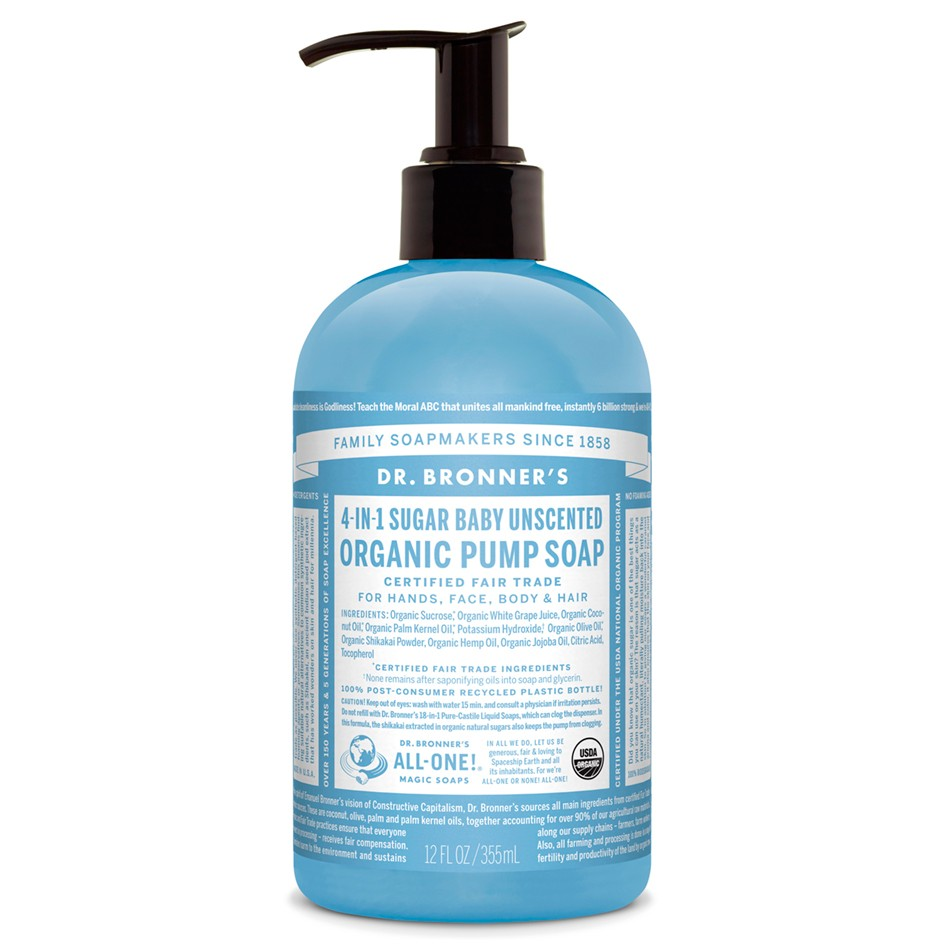 Save $1.00 off ONE (1) Dr. Bronner's Pure-Castile Liquid Soap 16oz or 32oz