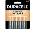 Save $2.00 on TWO Coppertop AA/AAA 8 PK, C/D 4 PK, 9V 2 PK or Larger OR TWO Quantum AA/AAA 6 PK, C/D/9V 3 PK or Larger