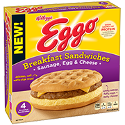 SAVE $1.50 on any TWO Kellogg's® Eggo™ Breakfast Sandwiches