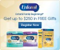 Get up to $250 in FREE gifts from Enfamil Family Beginnings®