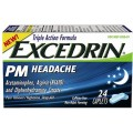 Save $1.00 off Excedrin® PM Headache 24ct product or larger