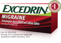 Save $1.00 off Excedrin® Migraine 24ct product or larger