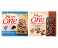 Save 50¢ when you buy TWO (2) BOXES any flavor Fiber One™ Chewy Bars, Fiber One™ 90 Calorie Products (Bars or Brownies), Fiber One™ Protein Chewy Bars, Fiber One™ Streusel Bars, Fiber One™ Cheesecake Bars, Fiber One™ Cookies OR Fiber One™ Layered Chewy Bars