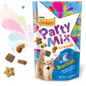 SAVE $1.00 on ANY three (3) packages of Friskies®, Fancy Feast® or Whisker Lickin's® brand Cat Treats