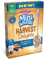 SAVE 50¢ on any ONE Kellogg's® Mini-Wheats® Harvest Delights™ Cereal