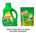 Save $2.00 on Gain® Flings (25ct or below) OR Gain® Detergent