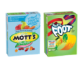 Save 50¢ on TWO (2) BOXES any flavor/variety Betty Crocker™ Fruit Shapes, Fruit by the Foot™, Fruit Gushers™ or Fruit Roll-Ups™ Fruit Flavored Snacks, Game Up™ Sports Chews, Mott's® Fruit Flavored Snacks, Sunkist® Fruit Flavored Snacks OR Fiber One™ Fruit Flavored Snacks