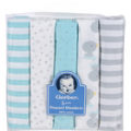 Save $1.00 off ONE (1) Gerber Flannel Blanket