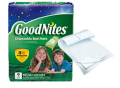 Save $1.00 on Any ONE (1) package of Goodnites® Bed Mats (not valid on 6 ct. or less)